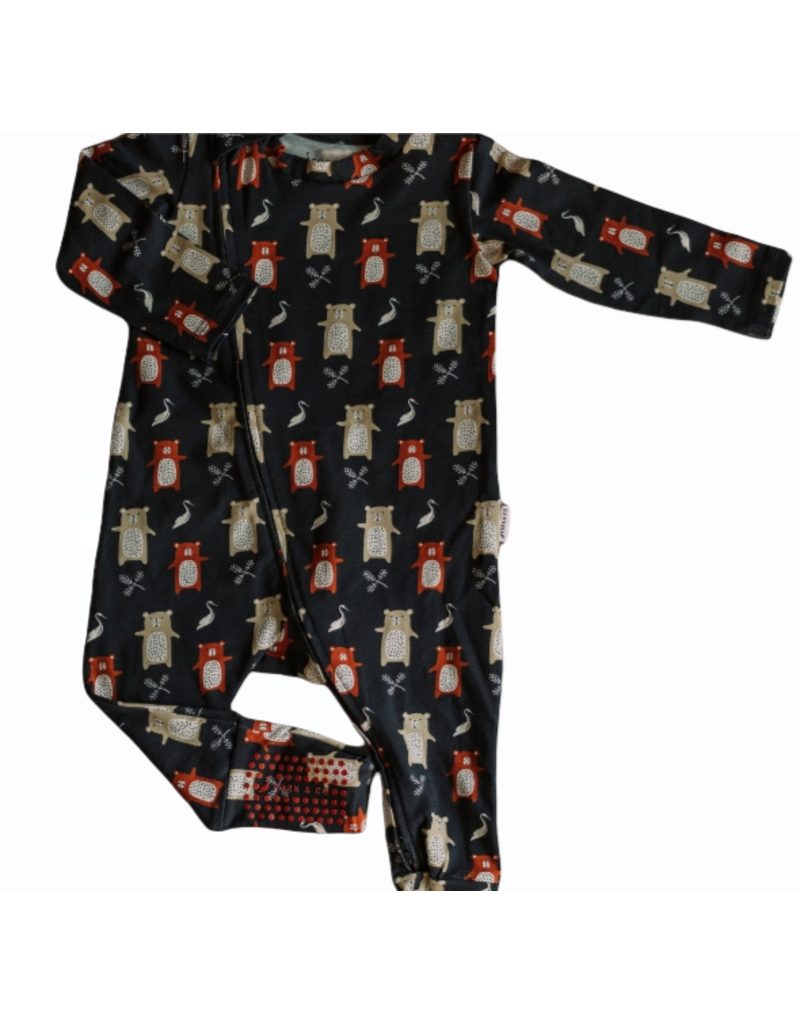 The Stork Box Earth Zippy Sleepsuit 0-3 Months