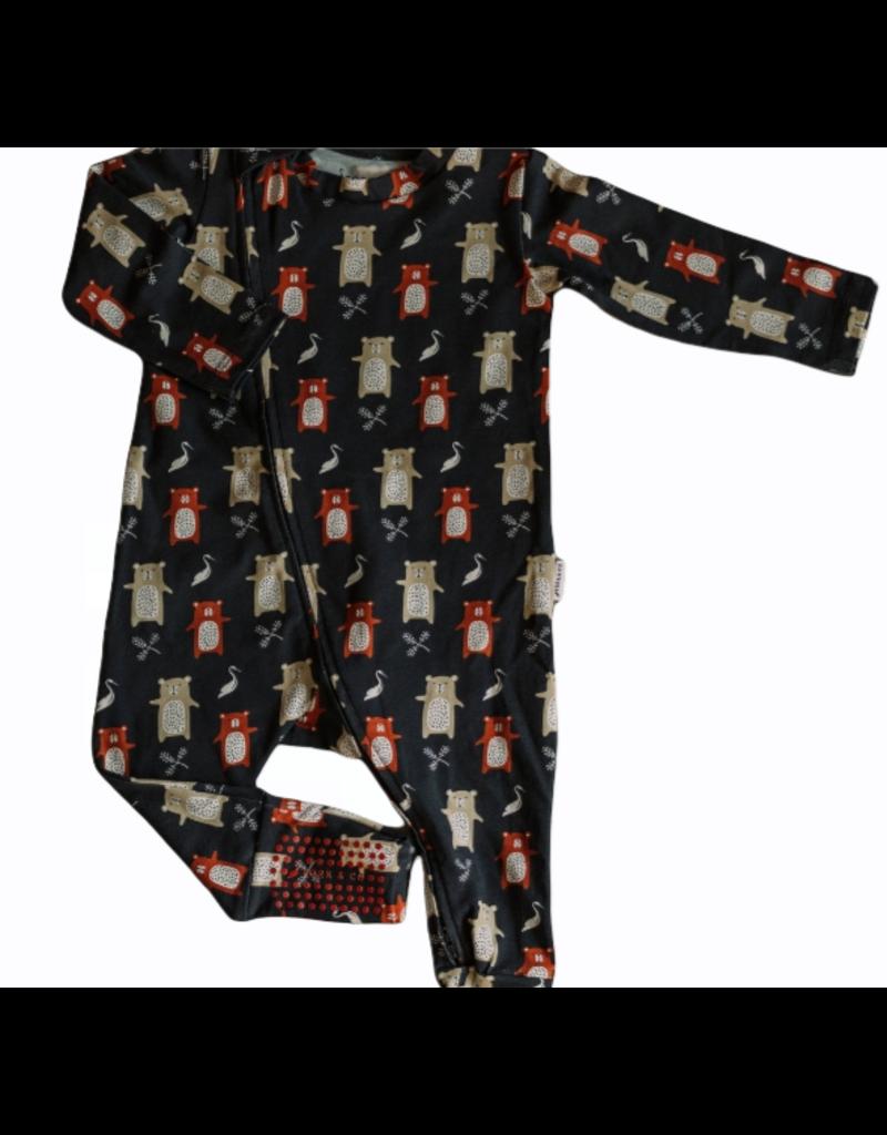 The Stork Box Earth Zippy Sleepsuit 3-6 Months