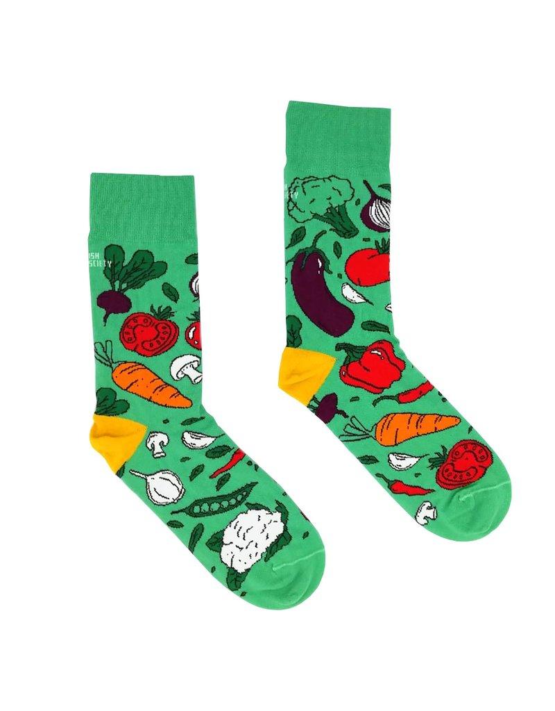 Irish Socksciety Vegetable Socks - Size 3-7