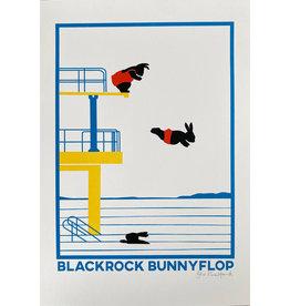 Bex Shelford Blackrock Bunnyflop Screenprint