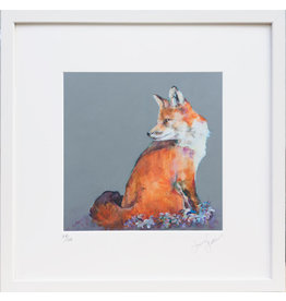 Lorraine Fletcher 'Retrospect Fox' Framed Print