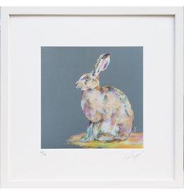 Lorraine Fletcher 'Hare Today' Framed Print