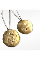 Ghost and Bonesetter Gealach Gold Hook Earrings