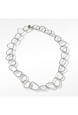 Ghost and Bonesetter Amalgam Link Silver Necklace
