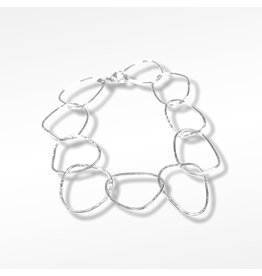 Ghost and Bonesetter Amalgam Link Silver Bracelet