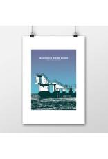 Blackrock Diving Board A4 Print Unframed