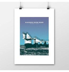 Jando Designs Blackrock Diving Board Print
