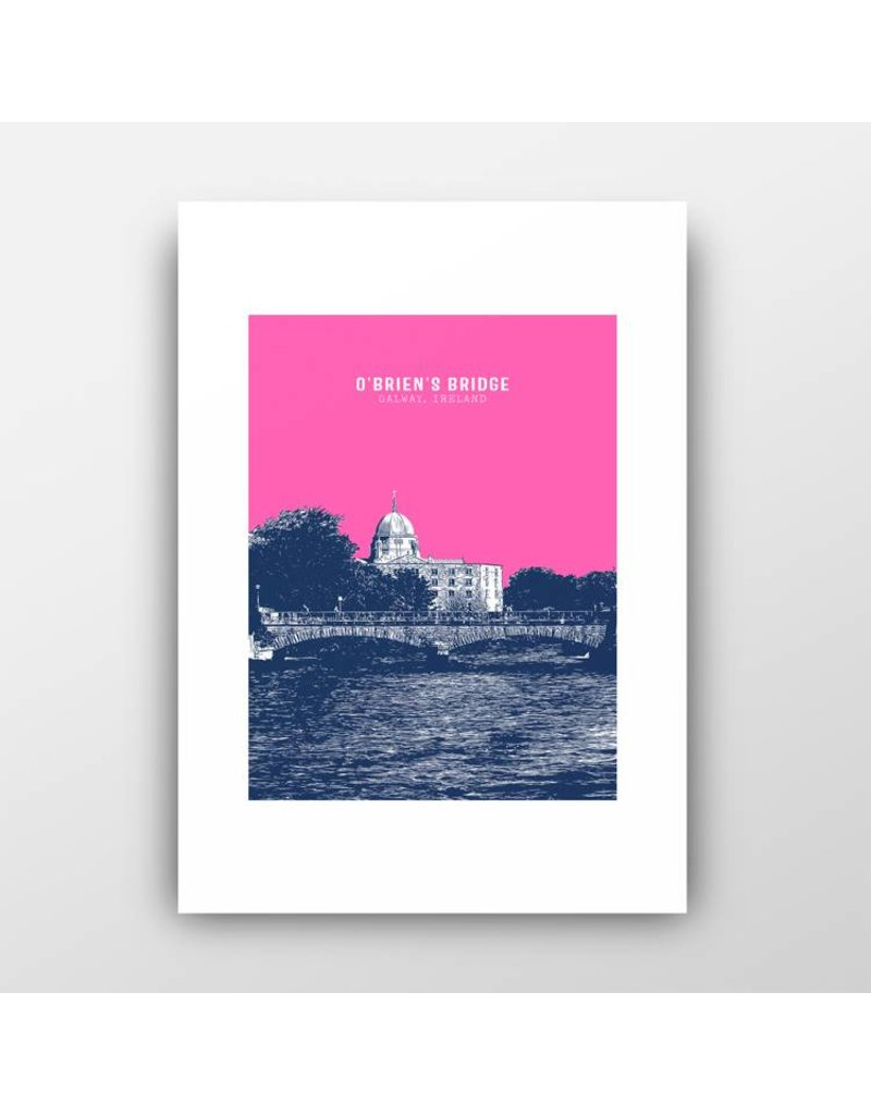 Jando Designs O'Briens Bridge A4 Print