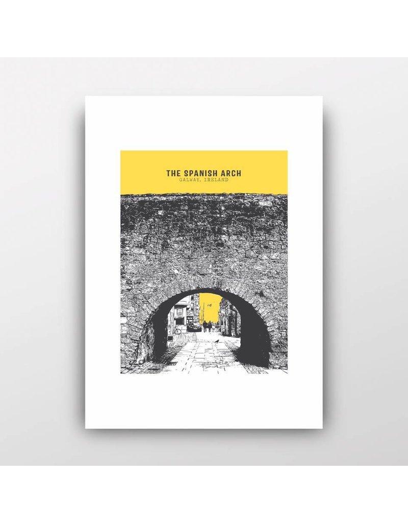 The Spanish Arch A4 Print Unframed