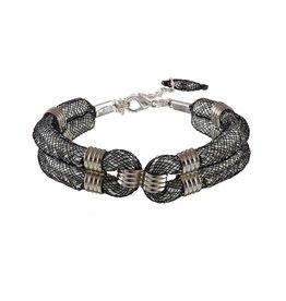 Karelian Silver Black Clove Cuff
