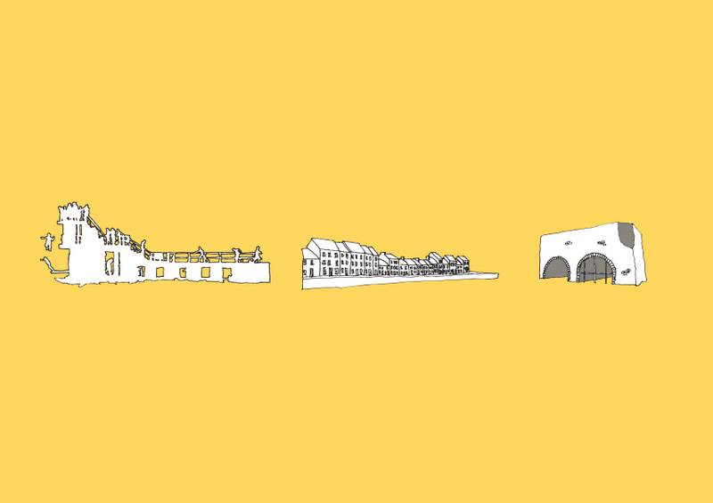 Galway Icons A3 Print
