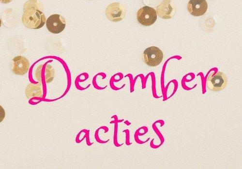Decemberactie, cadeaus met korting
