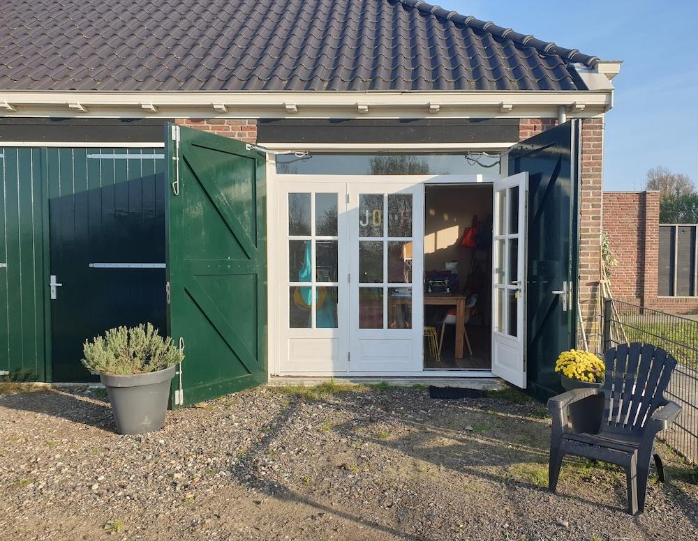 Showroom leren tassen in uitgeest, tussen Amsterdam en Alkmaar in
