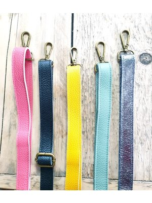 Joof Leren bagstrap, los tassenhengsel in leuke kleurtjes