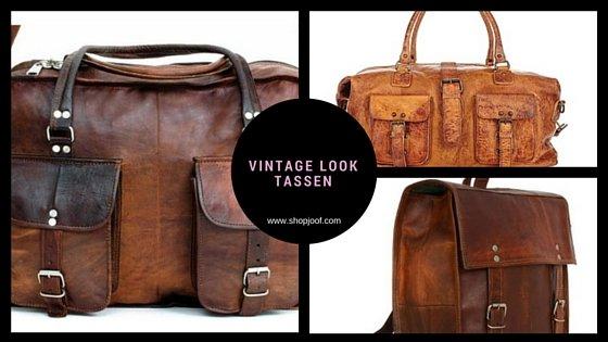 ce0c12603b5 Hou jij van stoeren tassen met een oude look? Kijk dan in onze webshop. -  JOOF leren tassen