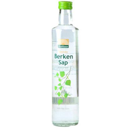 Mattisson Absolute Berkensap 100% juice Bio raw- 500 ml