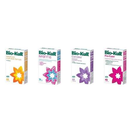 Bio-Kult probiotika regelmæssige - 60 kapsler