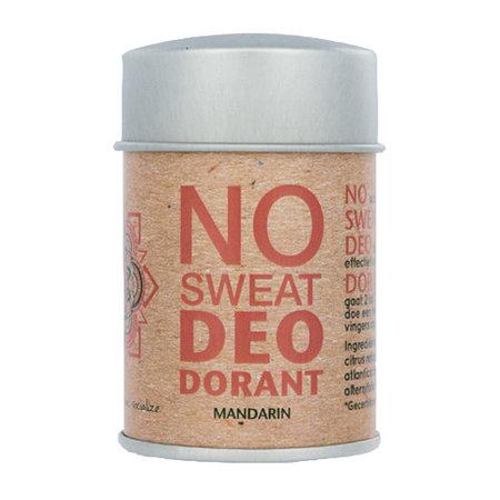 The Ohm Collection No sweat - Deopuder Mandarine - 60 Gramm
