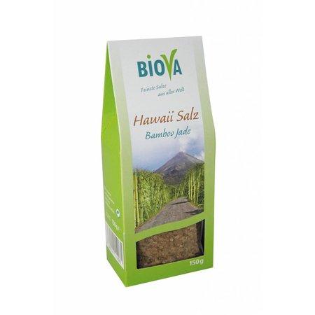 Biova Grünes Hawaii Salz - feinkörnig - 150g