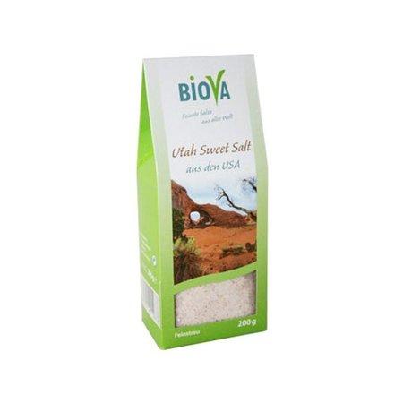 Biova Utah Sweet Salt - feinkörnig - 200g