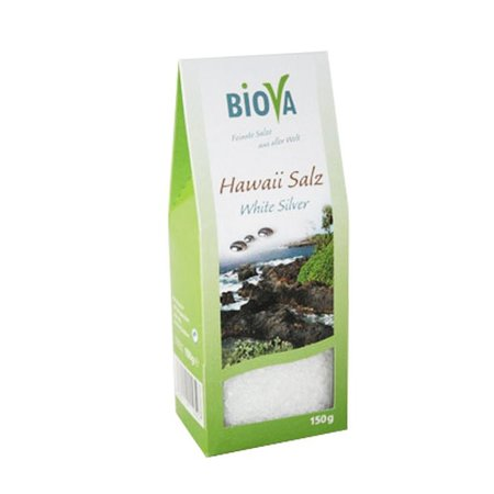 Biova hawaii fint hvidt salt - 150g