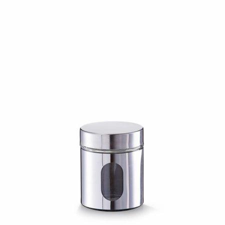 Zeller Voorraadbus chroom Small 500 ml
