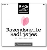 Bag-to-Nature Razendsnelle radijsjes kweken zakje