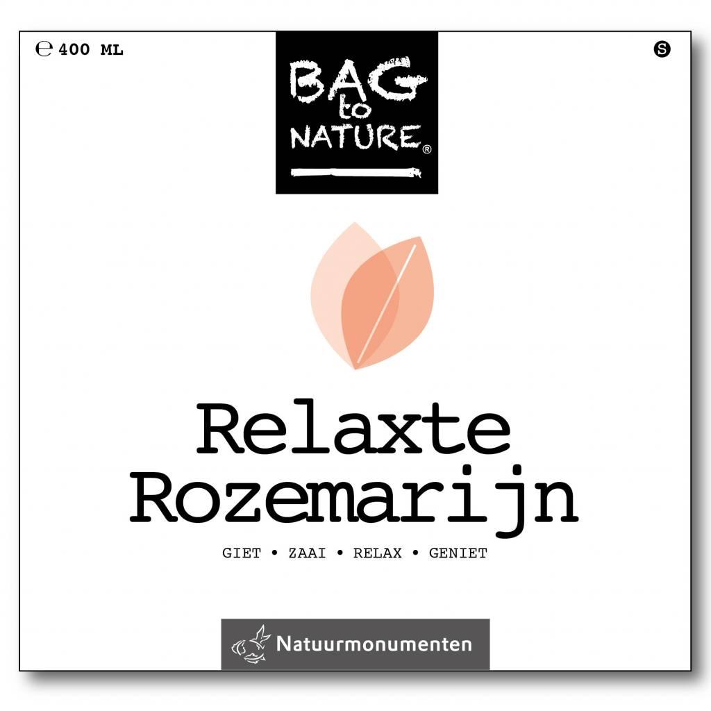 Relaxte rozemarijn kweken zakje