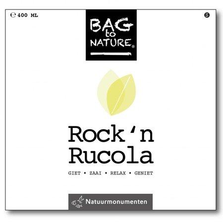 Bag-to-Nature Rock n rucola kweken zakje