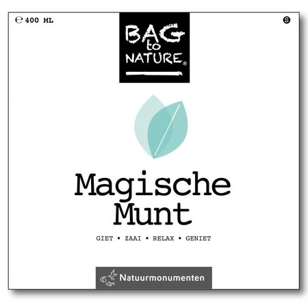 Bag-to-Nature Magische Munt kweken zakje