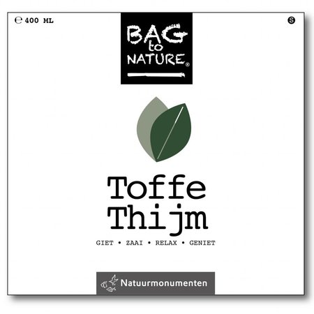 Bag-to-Nature Anbauset - Tougher Thymian