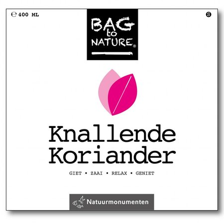Bag-to-Nature Anbauset - knorker Koriander