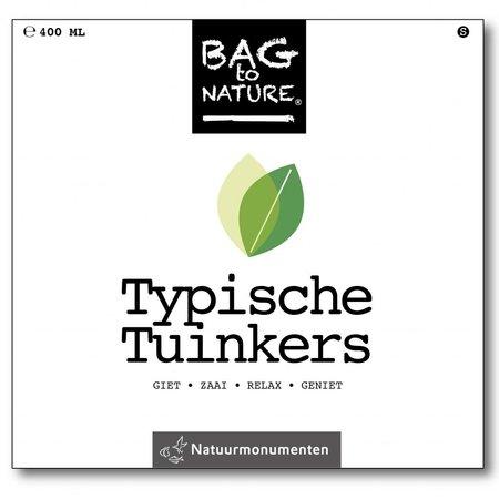 Bag-to-Nature Typische tuinkers kweken zakje