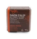 Najel Aleppo zeep blok Rode Klei 100 gram