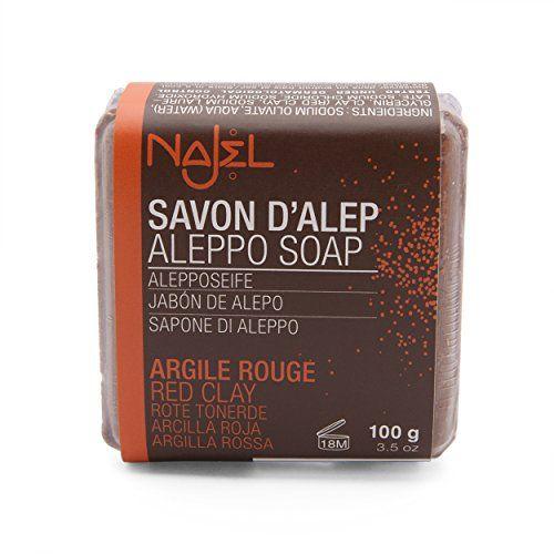 Aleppo zeep blok Rode Klei 100 gram