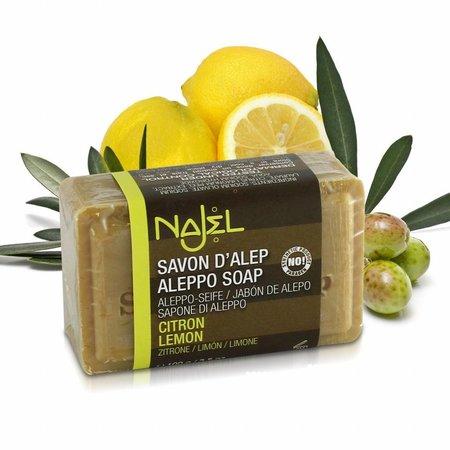 Najel Seife Zitrone und Limone - 100g