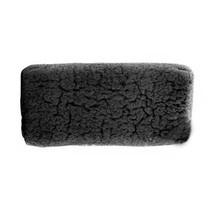 Konjac spons bamboo zwart rechthoek