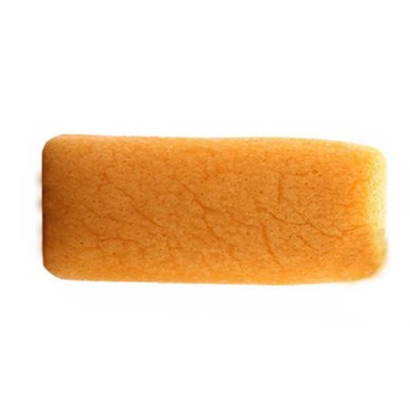 Konjac spons kurkuma oranje rechthoek