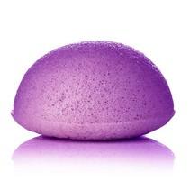 Konjac spons lavendel paars halfrond