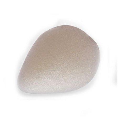 Konjac-Schwamm weiß tropfenförmig