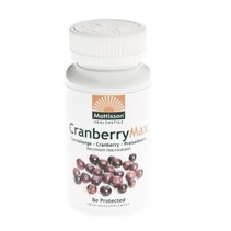 cranberry max extract capsules - 60vcaps