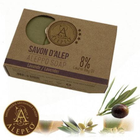 Alepeo Aleppo-Seifenstück -  Lavendel - 100g