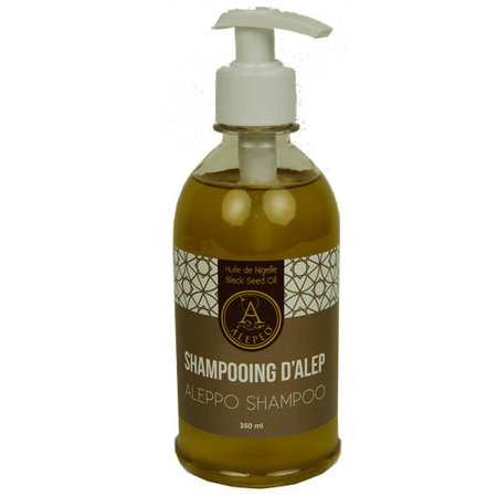 Alepeo Shampoo mit Schwarzkümmelöl - 350ml