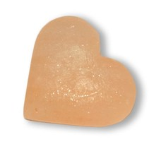 Natuurlijke peeling zoutsteen hartvorm 200-300g