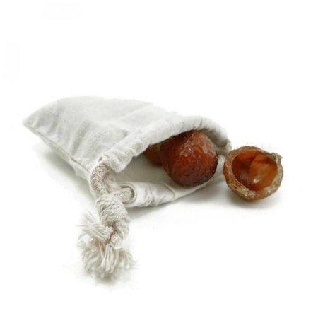 bomuld vaskepose for Soapnuts