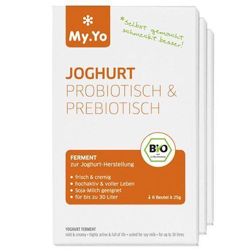 Yoghurt Ferment prebiotisch 6 zakjes