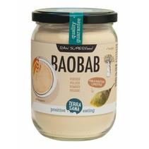 Økologisk Baobab pulver i 190g glas
