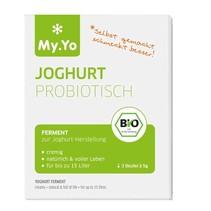 Organisk yoghurt probiotiske 3 poser på 5 gram
