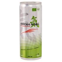 Organisk Matcha energi drikke i dåser
