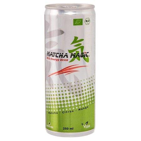 Matcha Magic Biologische Matcha energiedrank in blik